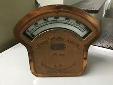 Antique Weston 5000A Station Ammeter