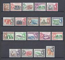 Dominique 1954 SG 140/58 neuf sans charnière Cat £ 85