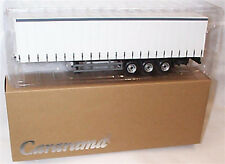 Oxford Diecast 1/50 Cararama CR027 Modern White Lorry Trailer ideal for Code 3
