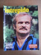 INTREPIDO n°10 1977 Sandro Mazzola Milla Sannoner Sergio Liani  [G551]