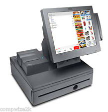 Bulk 2x Ex-Leased Touch Restaurant/Cafe POS Systems Including POS Software