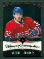 2016 UD Ultimate Introductions ARTTURI LEHKONEN Black   #03/25