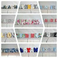 Name banner/Fabric Letters /Baby Shower/Nursery Decor /Personalised Gift