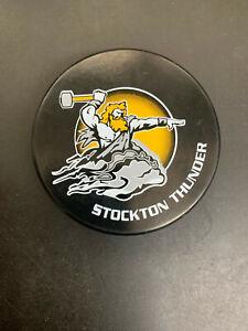 Stockton Thunder Official ECHL Collectors Souvenir Puck. Slovakia Sher-Wood