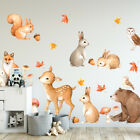 Woodland Animals Wall Sticker Kids Nursery Decal Home Decor Baby Room Art Diy
