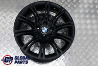 "BMW E60 E61 Black Matt Alloy Wheel Rim 18"" ET:20 8J M Double Spoke 135"