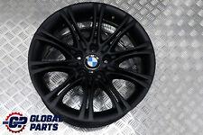 "*BMW E60 E61 Black Matt Alloy Wheel Rim 18"" ET:20  8J M Double Spoke 135"
