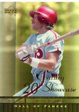 Mike Schmidt 2001 Upper Deck Hall of Famers 20th Century Showcase #S10
