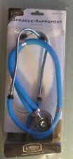 """Stethoscope Sprague Rappaport Galaxy Blue Dual Tube 122 Prestige Medical 30"""" (B6"""