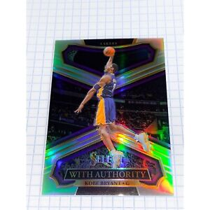 2017-18 Kobe Bryant Panini Select With Authority Silver #WA-3 SUPER RARE MINT!!!