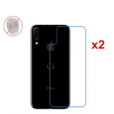 2 Pcs Matte/Anti-Glare Back Rear Screen Protector Film Cover Skin For iPhone X