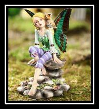 FAIRY Butterfly Winged Fairies Retired Nemesis Now Resin 1 (Green/Purple/Orange)
