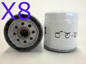 8X Oil Filter Suits Z154 DAEWOO LACETTI J200 SERIES C18SED 4CYL 1.8L 03-2004