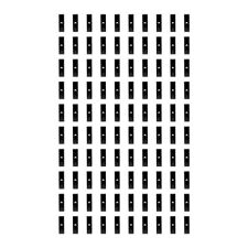 100 Pcs Black Gridwall Utility Hook Picture Hanger Grid Panel Notch Display