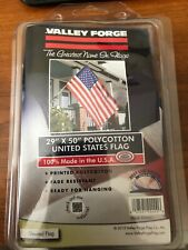 """Valley Forge 99000-1 Poly Flag With Sleeve, 29"""" x 50"""""""