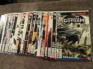 2009 DC Comics BATMAN Streets Of Gotham #1-21 Complete Set - PAUL DINI - NM/MT