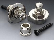 Schaller Straplock Set of 2 - Full Assembly Nickel