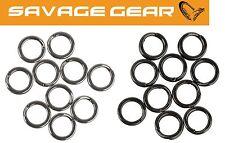 Savage Gear Stainless Splitring Mix Forged - 20 Sprengringe aus Stahl