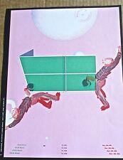 Bad at Sports Band Mini-Concert Poster Reprint for 2013 Miami FL 14x10