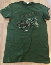PRIMUS T-Shirt Small2012 Tour, Green, Carriage Machine On Front Women's