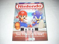 Nintendo Official Magazine Issue 22 November 2007 Mario & Sonic at Olympic Games