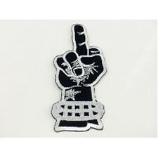 Finger F.CK Y.U Motorcycle Rider Biker Embroidered Sew/Iron On Patch Patches