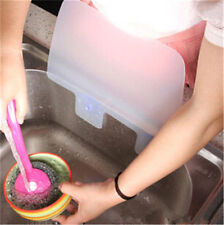 1pc Flexible Kitchen Sink Water Splash Guard Water Spitting Baffle Board Dam