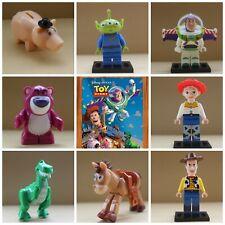 Toy Story Woody Buzz Lightyear Jessie Lotso Rex Alien Toys Action Mini Figures