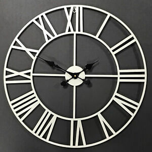 Metal Contemporary Wall Clocks For Sale Ebay