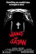 Jaws Of Satan Poster 01 A2 Box Canvas Print