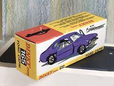 Dinky Toys Replica Box Near Mint #165 Ford Capri empty box
