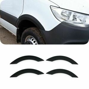MERCEDES SPRINTER W907 2018-2021 ABS BLACK 4PC WHEEL ARCH COVER TRIMS PROTECTION