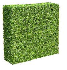 Portable Light Boxwood Hedge - UV stabilised (1m long x 1m High)