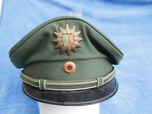 Nordrhein-Westfalen - Schirmmütze - m.Dienst - alte Uniform (nach 1977) - grün