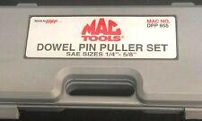 """Mac Tools DPP 955 Dowel Pin Puller ~ Clutch Tools Set SAE ¼"""" – 5/8"""" """" NEW"""""""