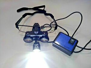New Cosmo Surgery LED Loupe Rechargeable Worldwide Expedited Shipping