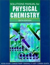 Physical Chemistry (Solutions Manual), Atkins, Good Books