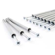 Schlagdübel 6-10mm ab 50 Stk. Einschlagdübel Nagel Nageldübel Polypropylen
