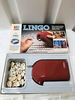 Vintage LINGO Word Tile Game MB Games family Letters game Age 8-adult Complete