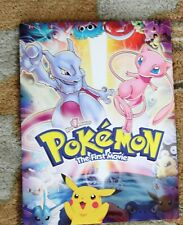 POKEMON THE FIRST MOVIE  ORIGINAL MOVIE PRESS KIT