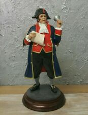 Rare The Fairweather Collection Large Resin Figurine -Town Crier on Base 💙