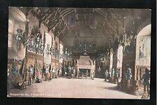 L@@K  Banqueting Hall Edinburgh Castle 1150 ~ 1905 Postcard