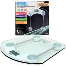Digital Personal Scale LCD Tempered Glass 396 lbs