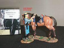 King and Country cw44 GUERRA CIVILE AMERICANA preparati a Mount metallo giocattolo Soldato