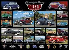EUROGRAPHICS JIGSAW PUZZLE CRUISIN' SERIES AMERICAN CARS OF THE 1930'S 6000-0674