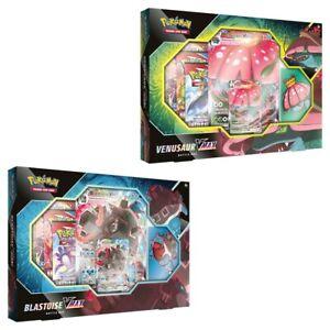 Pokemon TCG: Venusaur/Blastoise VMAX Battle Box - New & Sealed - Pokemon Cards