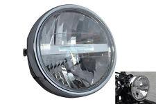 "LED Linterna Moto Motocicleta 6.5"" 6 1/2"" Para Bicicleta Retro Proyecto Personalizado"