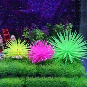 Silicone Aquarium Fish Tank Artificial Coral Plant Underwater Ornament Decoratio