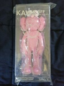 KAWS Pink BFF Open Edition Vinyl Figure 100% AUTHENTIC NEW DEADSTOCK DS RARE