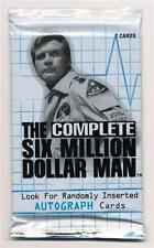 The Complete Six Million Dollar Man Card Pack